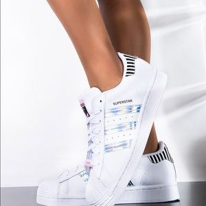 ADIDAS OG Superstar Holographic Sneakers